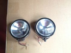 """Used KC HiLiTES 4205 6"""" Replacement Driving Beam Pattern Glass Lens pair"""