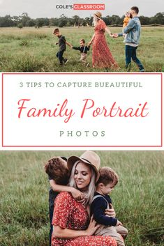 In this family portrait tutorial, you'll discover the 3 keys to capturing natural and authentic moments that your clients will love. #colesclassroom #familyportrait #naturalposingtips #photoshoot
