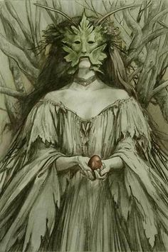 Brian Froud art, the egg
