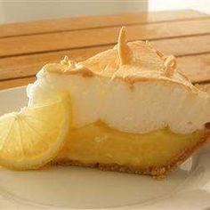 Oma's citroentaart met meringue