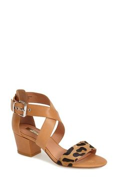 Halogen 'Rena' Crisscross Strap Sandal (Women) available at #Nordstrom