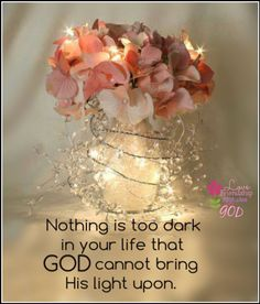 God is our light