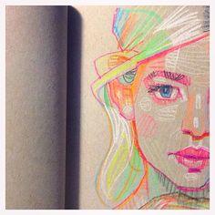 #drawing #sketch #sketchbook #moleskine #draw #art #artoftheday #instaart #artfido #luiferreyra