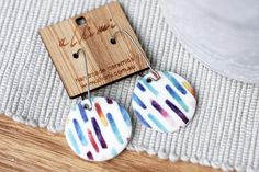 Check out our porcelain ceramic earrings selection for the very best in unique or custom, handmade pieces from our shops. Porcelain Jewelry, Ceramic Jewelry, Enamel Jewelry, Porcelain Ceramics, China Porcelain, Painted Porcelain, Porcelain Skin, Porcelain Doll, Cold Porcelain