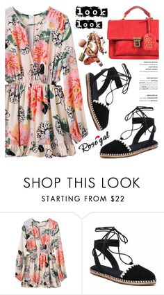"""""""ROSEGAL"""" by helenevlacho ❤ liked on Polyvore featuring rosegal"""