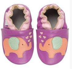 Momo Baby soft sole leather shoes on sale and free shipping! Adorable and sensible!