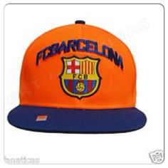 c2d834e2ca2 FC Barcelona Premium Embroired  amp  Adjustable Hat👟 FCB Barcelona  Official  amp  Authentic Soccer