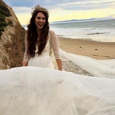 Troian Bellisario wedding