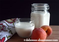 Milk Kefir and Kefir Cream - How to Make. http://www.deliciousobsessions.com/2012/07/52-weeks-of-bad-a-bacteria-week-24-milk-kefir-and-kefir-cream/#