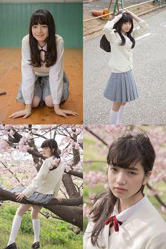 (via [GIRLS] 「PROTO STAR 小松菜奈」Vol.5-7 × 「PROTO STAR 吉倉あおい」Vol.1-3 | テンズライヴス-tenslives)