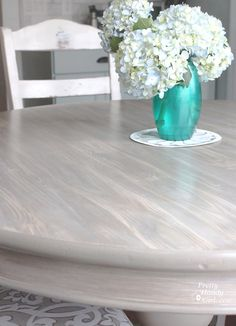 How to Faux Finish Weathered Wood Grain #BudgetUpgrade