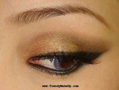Urban Decay metallic eyes