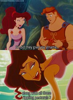 Hercules. Haha I'm gonna use this as a pick-up line from now on! ;) #Disney
