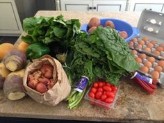 Meal Plan Week of 2/2-2/8: Great blog for CSA recipes