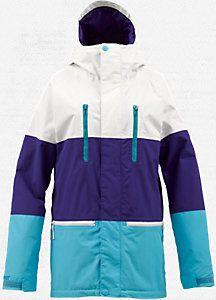 Burton Womens Prism Gore Tex Snowboard Jacket Jackets Equipment