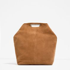 SPLIT SUEDE BACKPACK