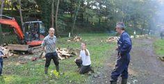 Une journée de débroussaillage et d'élagage au Camping Ateepeek à Saint Vincent sur Graon en Vendée