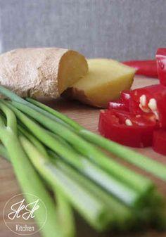 Zutaten für Chili Inger Suppe