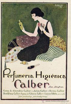 Baldrich, Calber cosmetics, 1922 on Flickr. Click image for 550 x 801 size.