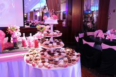 Sweet 16 Centerpieces for Tables   Princess Manor Catering Hall - Party Packages - Wedding - Sweet 16