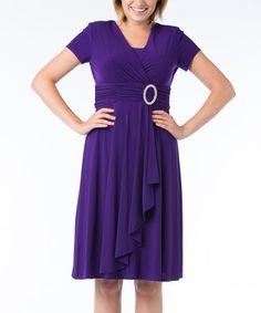 Another great find on #zulily! Iris Ring Surplice Dress #zulilyfinds