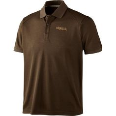 Harkila Gerit Polo Shirt #harkila #polo #shirt #outdoor #country #brown #shooting #hunting