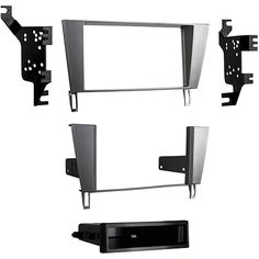 Dashboard Installation Kits: Metra 99-8161S Silver Single Double Din Stereo Dash Kit For 2002-10 Lexus Sc430 -> BUY IT NOW ONLY: $39.95 on eBay!