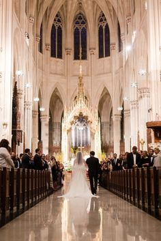 A St. Patrick's Cathedral Wedding in NYC by Jessica Haley