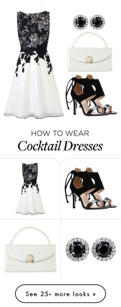 """""""Cocktail Dress"""" by tlb0318 on Polyvore featuring Coast, Judith Leiber and Tiffany & Co."""