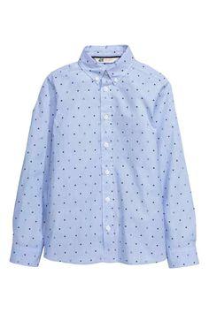 Camisa estampada de algodón   H&M