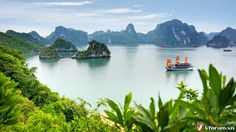 Ha Long Bay.