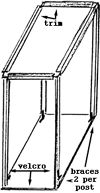 build a monarch cage