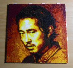 Glenn Rhee (Mini-Beads) by FTWBAmanojaku.deviantart.com on @DeviantArt
