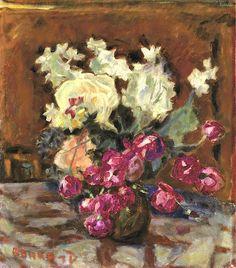 Pierre Bonnard (1867-1947) Vase de fleurs