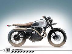 Smoked Garage Indonesia On Instagram SC 175 Based W Kawasaki Kit