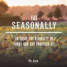Support local farmers and shop seasonally.
