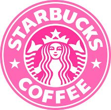 Fab starbucks logo - Made by Riley Starbucks Logo, Disney Starbucks, Starbucks Drinks, Starbucks Coffee, Pink Starbucks, Starbucks Vanilla, Logo Café, Starbucks Wallpaper, Coffee Logo
