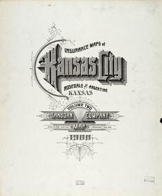 Sanborn Insurance map - Kansas - KANSAS CITY - 1908   #typography #lettering   100% 5600 × 6800 pixels  The Typography of Sanborn New York City Maps http://annyas.com/typography-of-sanborn-new-york-city-maps/  Sanborn map company logo and lettering  http://annyas.com/sanborn-map-company-logo-lettering/