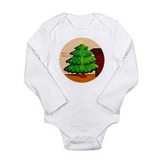 My First Christmas Tree Long Sleeve Infant Bodysui > Designs For The Little Ones