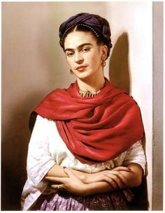 For Sale on 1stdibs - Frida with Picasso Earrings, Carbon Pigment Print by Nickolas Muray. Offered by PDNB Gallery.