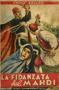 La fidanzata del Mahdi - 1947 -Copertina di Albertarelli / (The girlfriend of the Mahdi - 1947-cover Albertarelli)