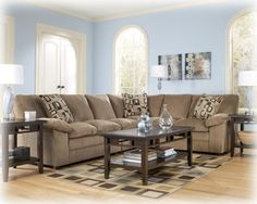 Signature Design by Ashley Renick Brown Sectional – zoostores.com