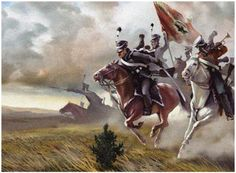Russian Cavalry charging