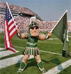 College game day at Spartan Stadium. Gotta love it!