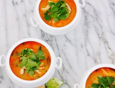 Thai Curry Soup + several other recipes