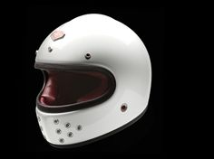 The beautiful new Les Ateliers Ruby 'Castel' has arrived. We've never seen a full-face helmet like it.