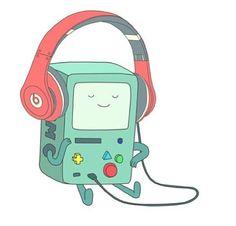 Imagem de bmo, adventure time, and music Adventure Time Anime, Adventure Time Wallpaper, Marceline, Cartoon Network, Abenteuerzeit Mit Finn Und Jake, Finn Jake, Png Tumblr, Adveture Time, Time Cartoon