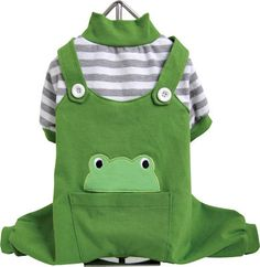 Animal Dog Pajamas - Frog