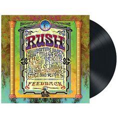 """L'album dei #Rush intitolato """"Feedback"""" su vinile nero 200 gr."""