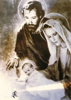 Miraculous pictures of Jesus, Mary and Joseph - the Holy Family of Nazareth. St Joseph Novena, Jesus Mary And Joseph, Saint Joseph, Catholic Prayers, Catholic Art, Catholic Beliefs, Roman Catholic, Christianity, Image Jesus